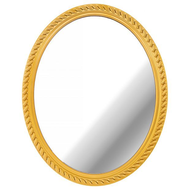 """Зеркало настенное """"lovely home"""" 52 см цвет: золото (кор=6шт.)-220-420"""