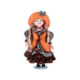 Кукла фарфоровая высота=40 см.-346-238