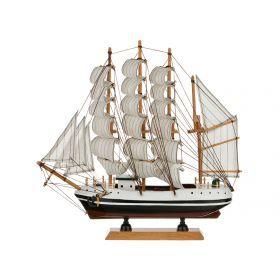 Модель корабля 33*7 см. высота=32 см.-271-154