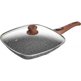 Сковорода-гриль с антипригар.