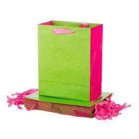 Комплект бумажных пакетов из 12 шт 23*18*10 см.-512-518