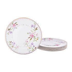 Набор десернтых тарелок из 6 шт. диаметр=20 см.-274-831