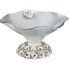 Декоративная чаша диаметр=22 см. высота=12 см.-316-1081