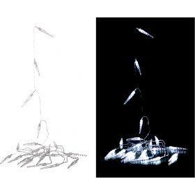 Электрогирлянда со светодиодами 3 м 20 led    холодный белый-857-005