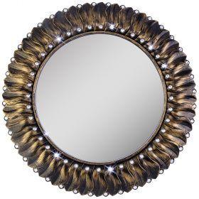 Зеркало настенное диаметр 52 см (кор=8шт.)-207-373