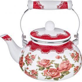 Чайник эмалированный 2,5 л.-934-353