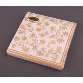 Салфетки бумажные 3-х слойные 33*33 см