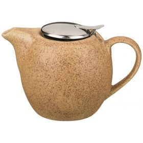Заварочный чайник с металл крышкой и  фильтром 900 мл.-444-104