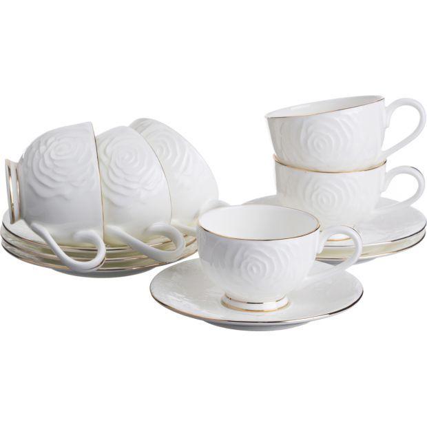 "Кофейный набор на 6 персон 12 пр.""blanco""100 мл.-264-457"