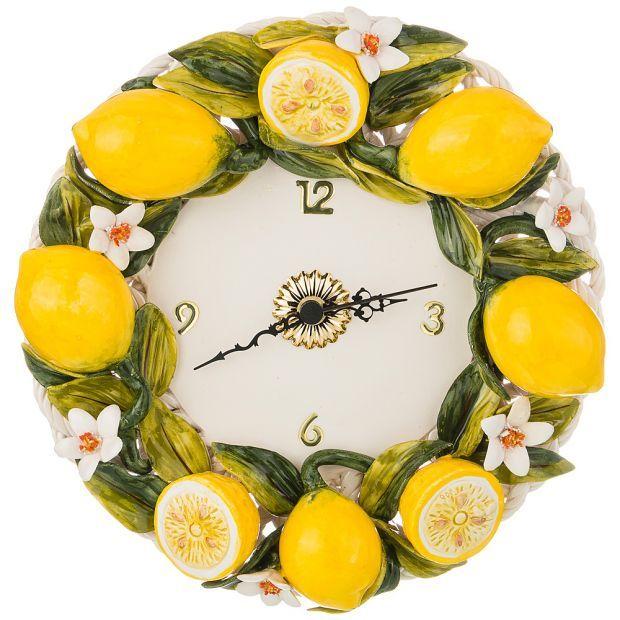 "Часы настенные ""лимоны"" 26 см-335-387"