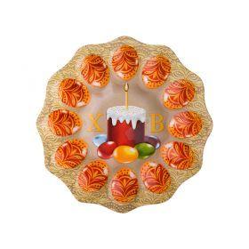 Тарелка для яиц диаметр=23,5 см. без упаковки-33-121