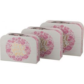 Набор подарочных коробок из 3 шт.29*22*10/27*20*9/24*14*7 см.-37-209