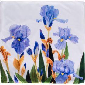 Декоративная наволочка 45*45 см, 100% п/э, ткань, печать (кор=60шт.)-826-034