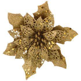Цветок декоративный с прищепкой