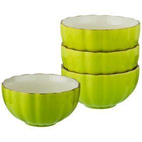 Набор салатников из 4 шт диаметр=15 см высота=7,5 см (кор=8набор.)-153-876