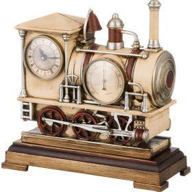 Часы настольные кварцевые с термометром