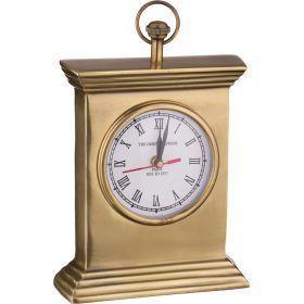 Часы настольные антик 16*5 см. высота=24 см.-877-418