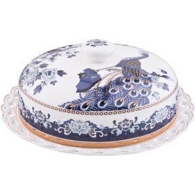 Блюдо для блинов с крышкой диаметр=25 см.-69-2502