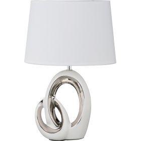 Светильник+абажур овал высота=41 см.27*19 см.е-14-139-185