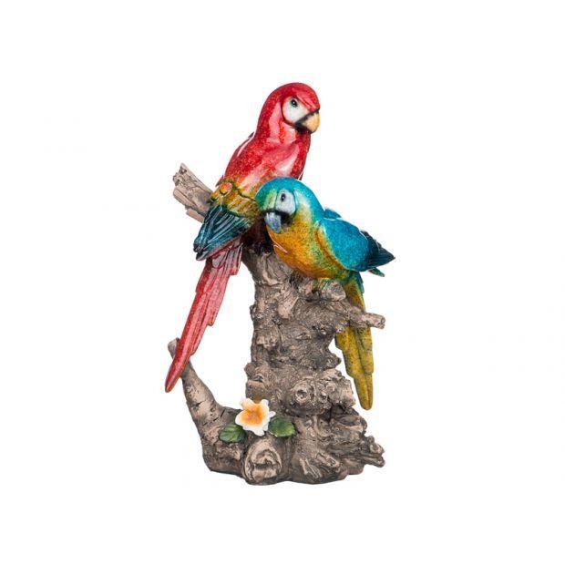 "Фигурка ""попугаи"" 15,5*11*25,5см-146-246"