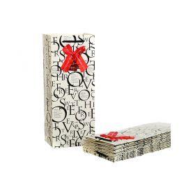 Комплект бумажных пакетов из 10 шт. 15*12*36 см.-521-053