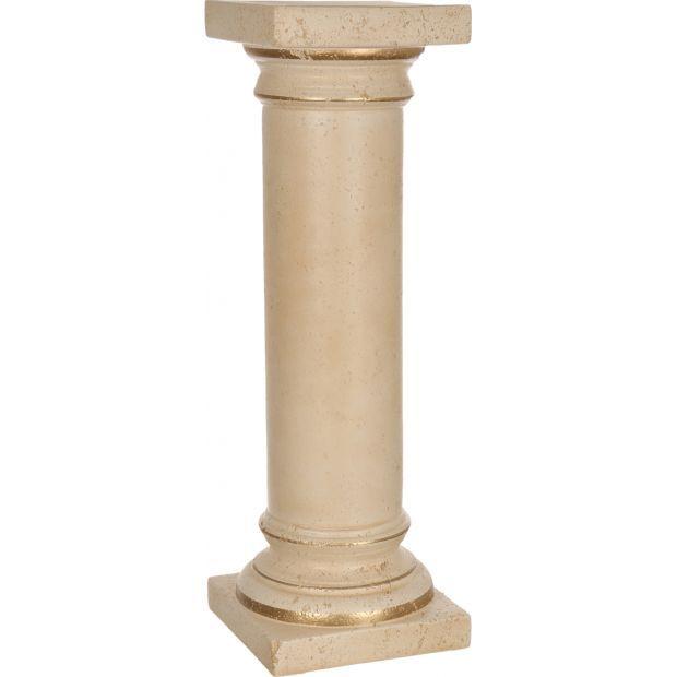 """Колонна """"романо"""" старинная персиковая высота=79 см.-742-161"""