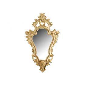 Зеркало настенное позолоченное 56*32/29*18 см.-290-015