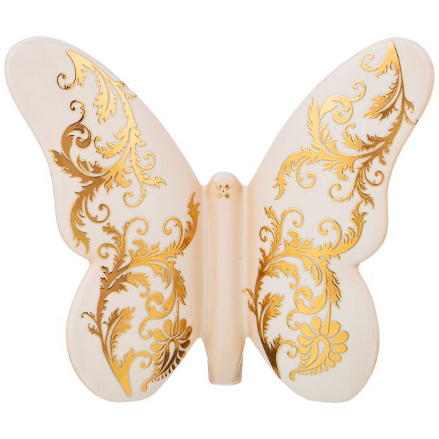 Бабочка декоративная 17*15 см-325-127