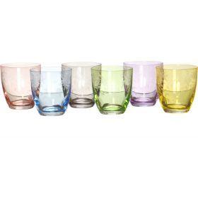 Набор стаканов из 6 шт.элизабет флорал 300 мл. высота=9 см.
