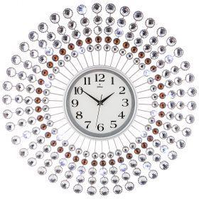 Часы настенные кварцевые диаметр=60 см (кор=6шт.)-207-334