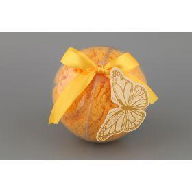 Полотенце в подарочной упаковке-шар 55*30 см.хлопок 98%, спандекс 2%-813-035