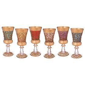 Набор бокалов для вина из 6 шт.250 мл.высота=19 см.-103-481
