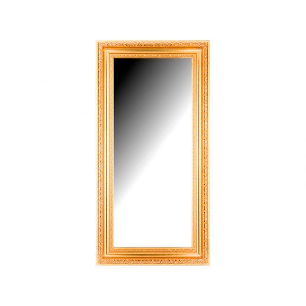 Зеркало 35,4х85,4 см в раме 101х51 см-575-905-37