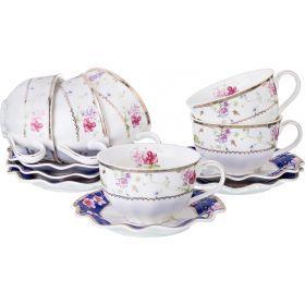 Чайный набор на 6 персон 12пр. 220мл-779-185