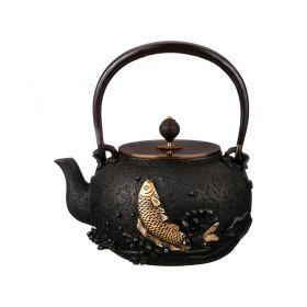 Чайник чугунный 1300 мл.-734-054