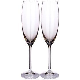 Набор бокалов для шампанского из 2шт