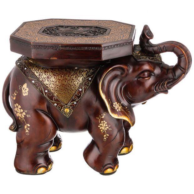 """Фигурка слон """"убережет от расточительства"""" высота=64 см. (кор=1 шт.)-114-416"""