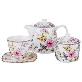 Чайный набор на 6 персон 14пр. 700/220/280 мл-165-432