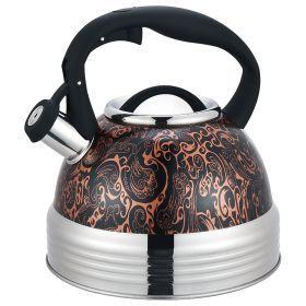 Чайник со свистком, индукцион. дно, 2,8л-937-817