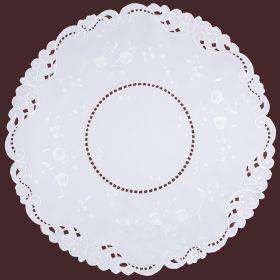 Скатерть диаметр 85*85 см, 100% полиэстер-836-234