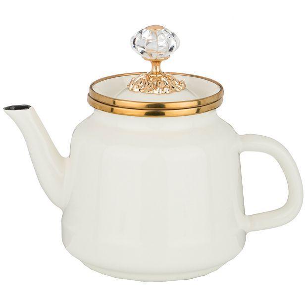 Чайник agness эмалированный, 1,0 л-950-230