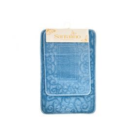 Набор ковриков для ванной комнаты 2 пр: 40*60 см-1шт, 50*80-1 шт