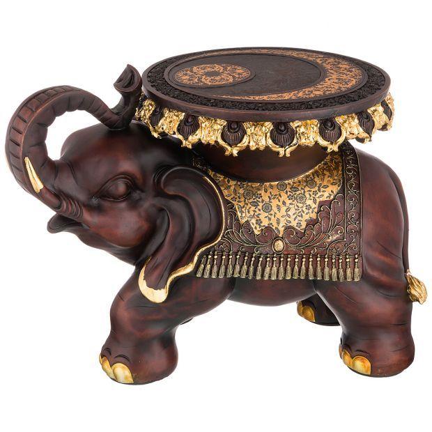 """Фигурка слон """"укрепление веры в собственные силы"""" 32,5*36 см. высота=46 см. (кор=1шт.)-114-409"""
