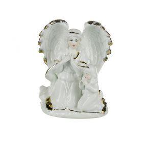 Фигурка ангел хранитель высота=14 см. крас.карт.уп