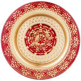 Тарелка «jasmin» red 21 cm-339-177