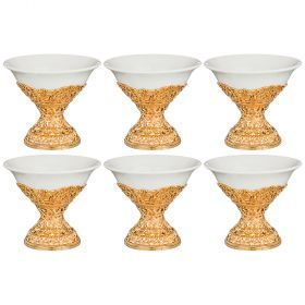 Набор креманок, 6 шт. 200 мл диаметр=12 см высота=10,5 см (кор=6набор.)-257-255