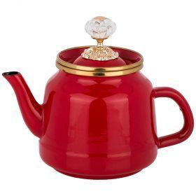 Чайник agness эмалированный, 1,0 л-950-231