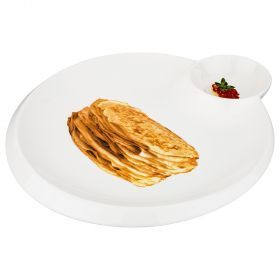 Блюдо для блинов 28*25 см (кор=18шт.)-388-114
