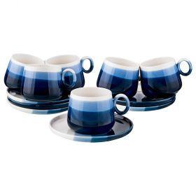 Чайный набор на 6 персон 12 пр. 250 мл коллекция