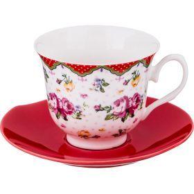 Чайный набор на 1 персону 2пр. 220 мл.-165-382